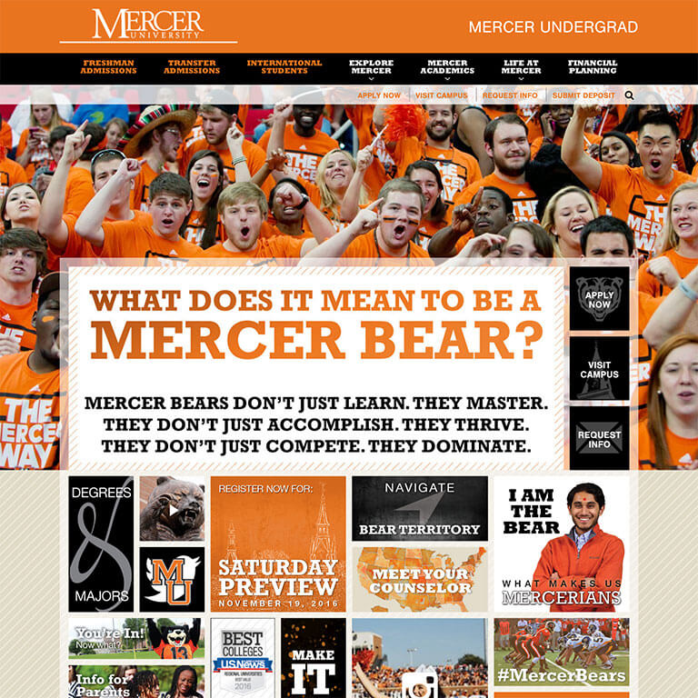 Mercer University Admissions - Image 1