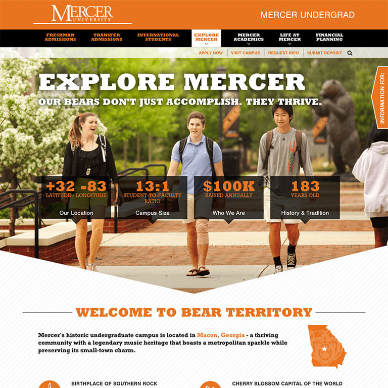 Mercer University Admissions - Image 2
