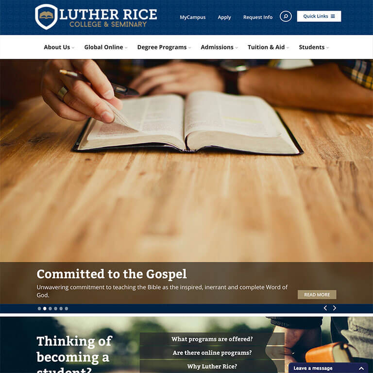 Luther Rice College and Seminary - Image 1